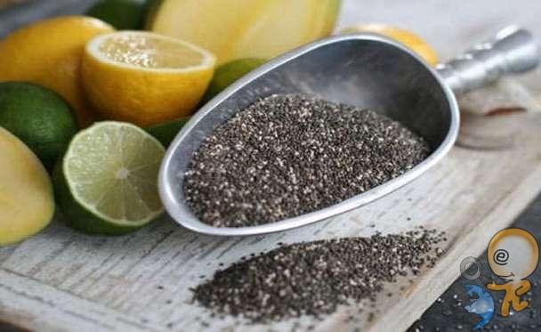 OMEGA-3 DEPOLAYIN Chia tohumlarının her 28 gramında 5 gram omega-3 vardır. Omega-3 beyin sağlığı için çok önemlidir..