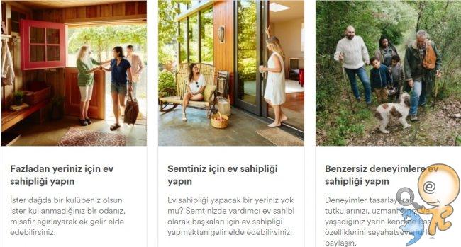 Airbnb Ev Sahini Seçenekleri