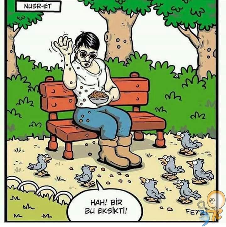 Nusr-et Karikatür | NetteSosyal - Sosyal Platform
