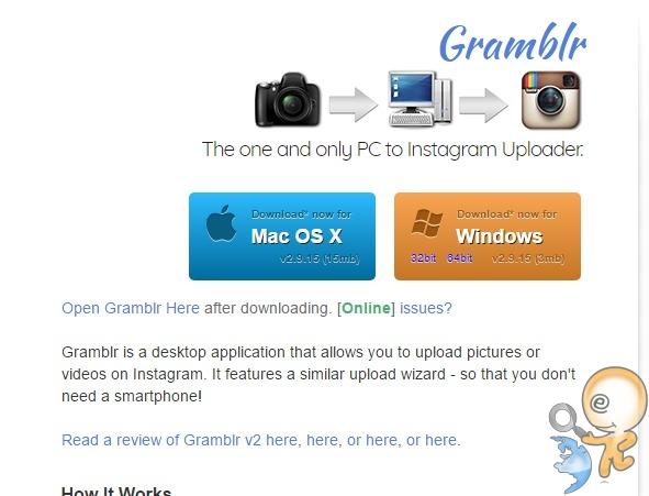 gramblr sitesi programı indir