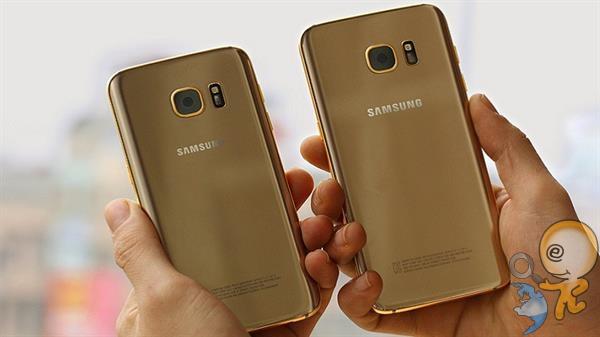 samsung galaxy s8 altın ile kaplanır