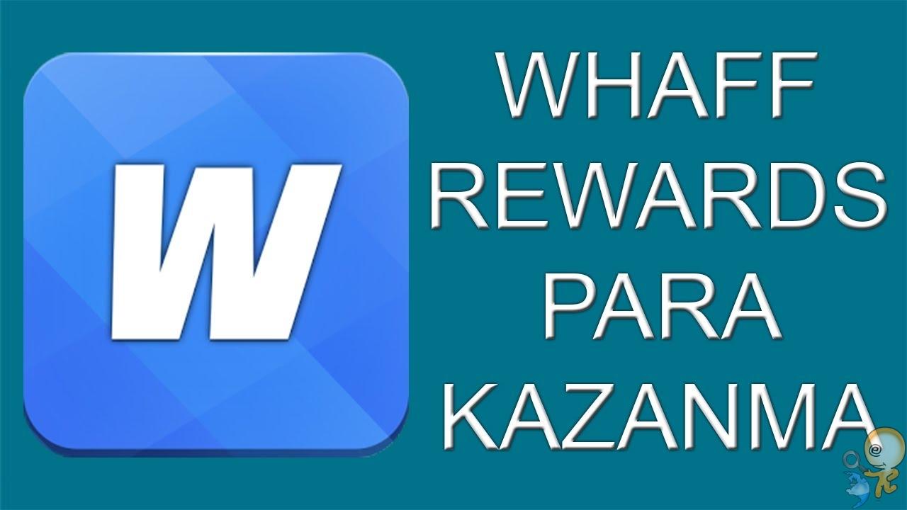 whaff reward ile para kazanma